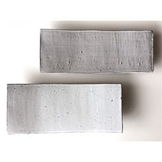 Ceramics / Pottery / Sushi plates / white and light grey / by Ice Grey (Tokyo)