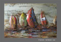 Main Sail Metal Wall Art