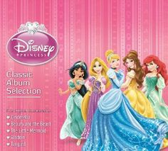 Various Artists - Disney Princess: Classic Album Selection (CD) Cool Things To Buy, Stuff To Buy, Kid Stuff, Various Artists, The Little Mermaid, Beauty And The Beast, The Selection, Aurora Sleeping Beauty, Album