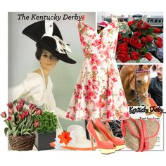 """Kentucky Derby"" by ceca-66 on Polyvore"