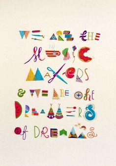 Typography Pattern โดย MaricorMaricar | เว็บรวมศิลปะ ภาพวาด งานออกแบบ จากนักออกแบบทั่วโลก