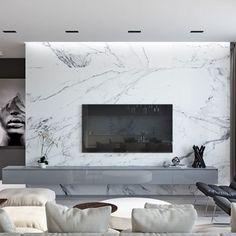 The 10 Best Today- zeina Aq Living Room Tv, Living Room Modern, Living Room Designs, Tv Wall Design, House Design, Design Design, Zeina, Space Interiors, Balcony Design