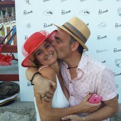 """Veronica e andrea... la """"passione"""" per il cinema #hatsummer  #Livorno #Toscana #Tuscany #Italy #Italia #instaitalian #instaitalia #moda #fashion #womenfashion #sea #seaside #mare #cinema #cortometraggio #cortometraggi #estate #hat #instaitaly"""