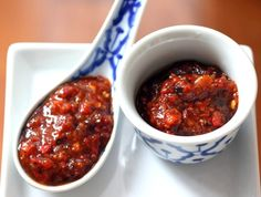 Nam Prik Pao (Thai Chili Paste)-- a brilliant way to use up some of this year's abundant red chili harvest!