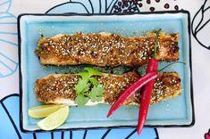 Aasialainen uunilohi - Reseptit - Ilta-Sanomat Bouillabaisse, Tuna, Avocado Toast, Fish, Meat, Breakfast, Beef, Morning Coffee, Atlantic Bluefin Tuna