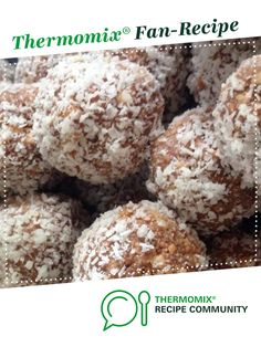 Recipe Rum Balls by Cookn, learn to make this recipe easily in your kitchen machine and discover other Thermomix recipes in Baking - sweet. Rum Balls, 5 Recipe, Christmas Cooking, Recipe Community, Food N, Candies, Chocolates, Sweet Recipes, Crockpot