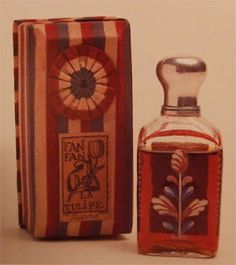 Fan Fan Tulipe, 1913 from Paul Poiret's Parfums de Rosine.