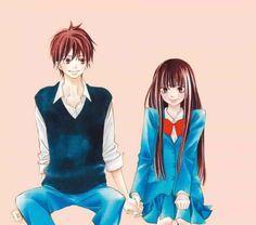 Shouta and Sawako     _Kimi ni Todoke