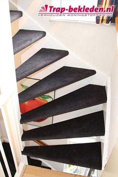 Open trap bekleden met Parade Toscana kl. 750 zwart