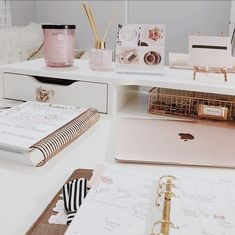 Home work office pink laptop pink office girly office Home work office pink lapt. Home work office pink laptop pink office girly office Home work office pink laptop pink office girl Corporate Office Design, Home Office Design, Home Office Decor, Office Ideas, Desk Ideas, Pink Office Decor, Room Ideas, Office Inspo, Work Desk Decor