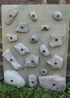 10 Rock Climbing Holds  Made From Real Rocks by RealRockClimbing