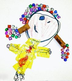 Reggio Children Inspired — Self-Portrait Project : Self Portraits. Preschool Art Activities, Creative Activities, Reggio Emilia, Reggio Children, Emergent Curriculum, Art Therapy Projects, Art Themes, Process Art, 4 Year Olds