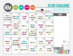 Make Your Move 30 Day Challenge