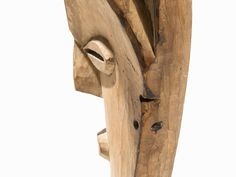 Important Vuvi Mask, Gabon Wood Vuvi peoples, Gabon Large facial plane with strong high forehea The Saleroom, Art Auction, Tribal Art, Wood, Auction, Woodwind Instrument, Timber Wood, Trees