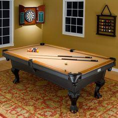 Minnesota Fats 8 ft. Covington Billiard Table