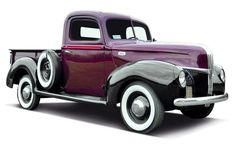 1941 Ford Pickup with new 226-cu.in. six. MY DREAM CAR!