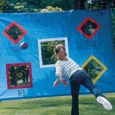 outdoor games 9 DIY backyard games you should get into today photos) Ideas Geniales, Outdoor Play, Outdoor Living, Party Outdoor, Outdoor Party Games Kids, Family Outdoor Games, Church Picnic Games, Outdoor Activities For Adults, Outdoor Toys