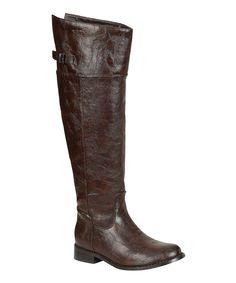 224 Chocolate Brown Rider Boot.