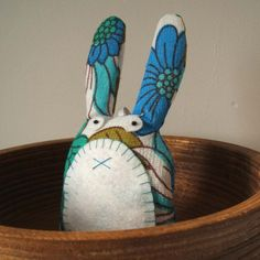 Lavender Rabbit Sachet, $20, on #etsy