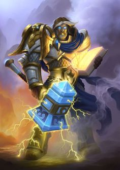 Uther the Lightbringer - Characters & Art - Hearthstone: Heroes of Warcraft