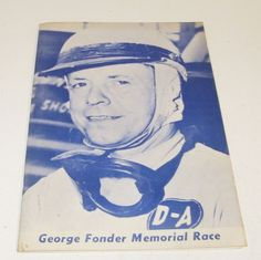 Vintage Hatfield Speedway Racing Program Midgets Drags Stock Car Fonder Race Car