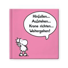 """Geschenkbuch """"Krone"""" http://sheepworld.de/shop/nach-Serien-Motive/Buecher/Geschenkbuch-KRONE.html?force_sid=rp9t6e225fkk0760qbave7a8i5&listtype=search&searchparam=geschenkbuch"""