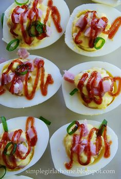 Deviled Ham and Eggs