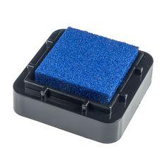 Encreur 2,5 x 2,5 cm Bleu