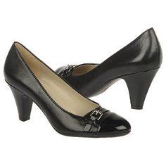 Women's Naturalizer Bean Black Leather/Shiny Naturalizer.com Loving this for fall! #naturalizer