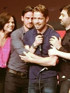 Every Time when Colin O Donoghue goes to a convention, I always feel like I have to be there. But I never do, and I'm always so jealous when I look at these pictures, because I didn't get to go