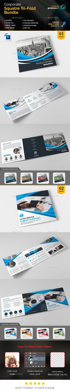 Free brochure template preview polygraphy Pinterest Brochure - technology brochure template