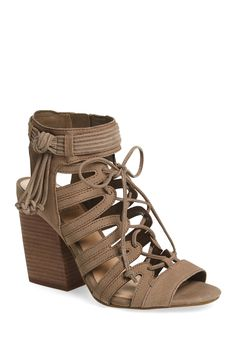 Ranata Caged Sandal by Vince Camuto on @nordstrom_rack