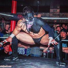 Because simply wearing a mask in wrestling is too mainstream. Wrestling Videos, Wrestling Wwe, Finn Balor Demon King, Japanese Wrestling, Balor Club, Best Wrestlers, Eddie Guerrero, The Shield Wwe, Lycra Men