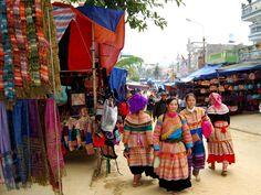 Bac Ha Sunday Market and Sapa Tribes