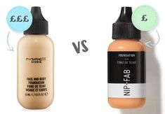 Trying to find the best Foundation in the UK is easy when you have lots of money to spend, but what if you're on a tight budget? Are there any Drug Store B. Body Foundation, Drugstore Foundation, Makeup Foundation, Drugstore Makeup Dupes, Mac Makeup, Skin Makeup, Makeup Art, Beauty Makeup, Basic Makeup Kit