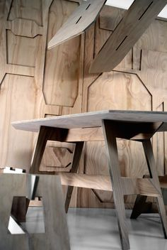 Vertical Furniture Insitu: Dylan Falecki :: AFA | Tent London 2015