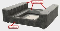 Learn how to build beautiful machine bases out of a cast epoxy granite composite material. You can do this at home!