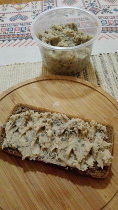 Wegański smalec, czyli pasta z bałej fasoli