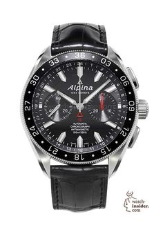 Alpiner4 Chronograph. #alpina #watchtime #chronograph