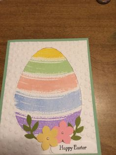 Happy Easter by JoanTallent - Cards and Paper Crafts at Splitcoaststampers