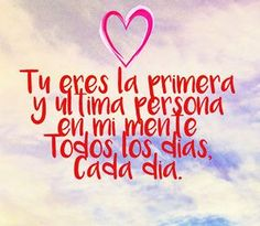 imagenes-de-amor Frases Tumblr, Word Of The Day, Morning Quotes, Calm, Feelings, Words, Instagram Posts, Romance, Buen Dia