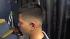 mohawk fade haircut instagram @kike_cutz - YouTube