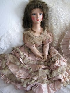 lovely antique doll