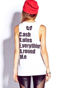 Wu-Tang Muscle Tee | FOREVER21 - 2000074954