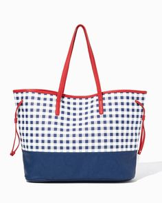 charming charlie's  handbags | Home / What's New / 7 Shop Charming Charlie / Gingham Tote