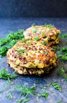Quinoa fritters with feta -- Low FODMAP Recipe and Gluten Free Recipe #lowfodmaprecipe #glutenfreerecipe #lowfodmap #glutenfree