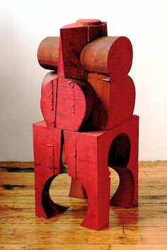 Mel Kendrick Untitled 2007 wood and japan color