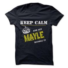 Let MAYLE Handle it - #cool shirt #blusas shirt. BUY TODAY AND SAVE   => https://www.sunfrog.com/Funny/Let-MAYLE-Handle-it.html?id=60505