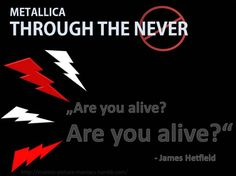 Filmzitat der Woche/Movie quote of the week - Metallica Through the never  -> http://motion-picture-maniacs.tumblr.com/image/75589951787