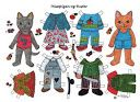 Katte i farver. Påklædningsdukker. Cats in colours. Paper Dolls. - Karen Bisgaard Petersen - Picasa Web Albums  (Visit site for the rest of this set).